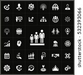 business chart icon. business... | Shutterstock . vector #532393066
