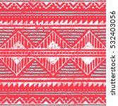 seamless ethnic pattern.... | Shutterstock .eps vector #532403056