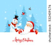 holiday christmas background... | Shutterstock .eps vector #532409176