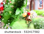 decorated christmas tree        ... | Shutterstock . vector #532417582