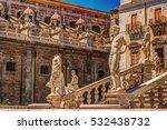 beautiful sculpture of the... | Shutterstock . vector #532438732