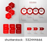 infographics step by step.... | Shutterstock .eps vector #532444666