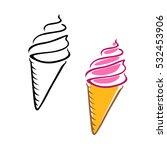 ice cream | Shutterstock .eps vector #532453906