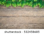 christmas white background with ... | Shutterstock . vector #532458685