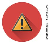 generic caution .hazard warning ... | Shutterstock .eps vector #532463698