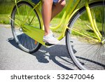 close up of female legs on... | Shutterstock . vector #532470046