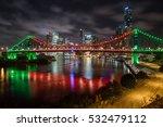 story bridge in brisbane | Shutterstock . vector #532479112