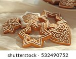 Tasty Gingerbread Cookies On...