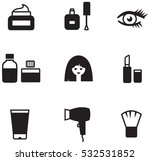 cosmetics icons | Shutterstock .eps vector #532531852