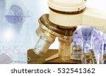 scientists and scientific... | Shutterstock . vector #532541362