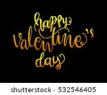 happy valentine's day... | Shutterstock .eps vector #532546405