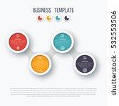 infographics timeline template... | Shutterstock .eps vector #532553506