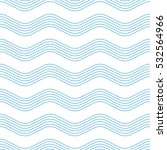 wave seamless pattern. | Shutterstock .eps vector #532564966