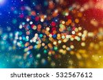 colored abstract blurred light... | Shutterstock . vector #532567612