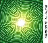 Green Twirl Burst Background ...