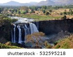 ethiopia landscape with... | Shutterstock . vector #532595218