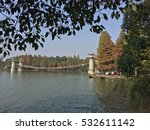 lake in the park in china | Shutterstock . vector #532611142