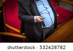 man with overweight. symbolic...   Shutterstock . vector #532628782