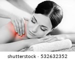 healthy beautiful woman spa.... | Shutterstock . vector #532632352