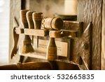 printing press tools | Shutterstock . vector #532665835