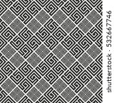 seamless pattern in greek style.... | Shutterstock .eps vector #532667746