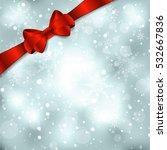 elegant christmas background...   Shutterstock .eps vector #532667836