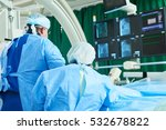 interventional cardiology. male ... | Shutterstock . vector #532678822