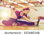 fitness  sport  training  gym... | Shutterstock . vector #532680148