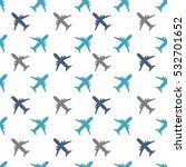 kids seamless pattern with... | Shutterstock .eps vector #532701652