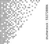 gray and white pixel background.... | Shutterstock .eps vector #532728886