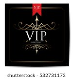 vip card | Shutterstock .eps vector #532731172