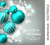 christmas party invitation... | Shutterstock . vector #532750312