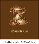 lettering name company for... | Shutterstock .eps vector #532761175