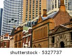 historic building and... | Shutterstock . vector #5327737