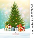 holiday background with a... | Shutterstock .eps vector #532780342