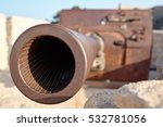 Muzzle Artillery In A Fortress