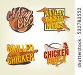 creative set of logo design... | Shutterstock .eps vector #532783552