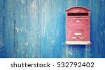 Small photo of Red mail box