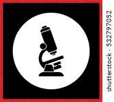 microscope icon vector eps10. | Shutterstock .eps vector #532797052