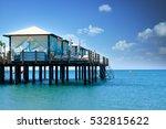 beach landscape with sea  sky... | Shutterstock . vector #532815622