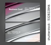 stylish business cards with... | Shutterstock .eps vector #532822846
