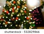 Light On Christmas Tree