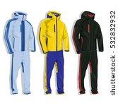 sport suit isolated. | Shutterstock . vector #532832932