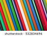 pattern of color pencils