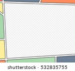 vector mock up of a typical... | Shutterstock .eps vector #532835755