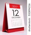 simple desk calendar for... | Shutterstock . vector #532894216