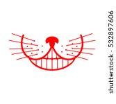 Cheshire Cat Smile. Animal...