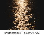 blur tropical sunset beach with ... | Shutterstock . vector #532904722