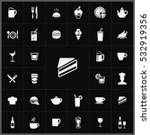 cafe icons universal set for... | Shutterstock . vector #532919356