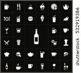wine icon. cafe icons universal ... | Shutterstock . vector #532919386
